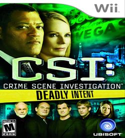 CSI- Deadly Intent ROM