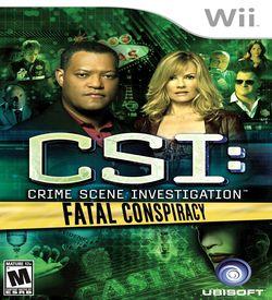 CSI - Fatal Conspiracy ROM