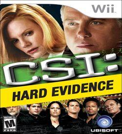 CSI- Hard Evidence ROM