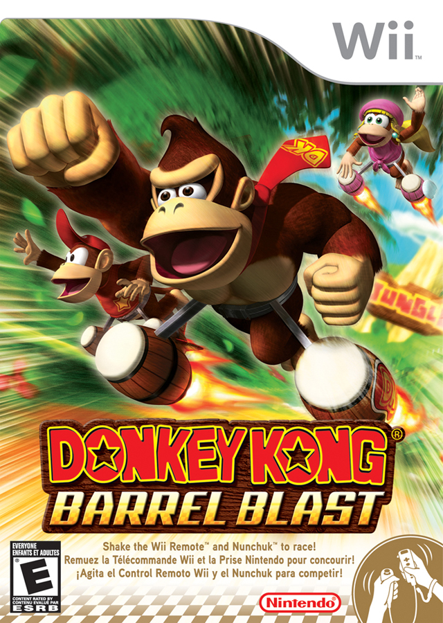 Donkey Kong- Barrel Blast