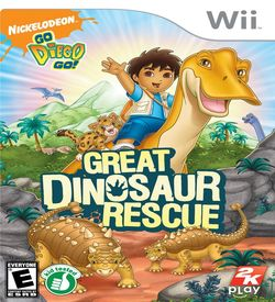 Go Diego Go Great Dinosaur Rescue ROM