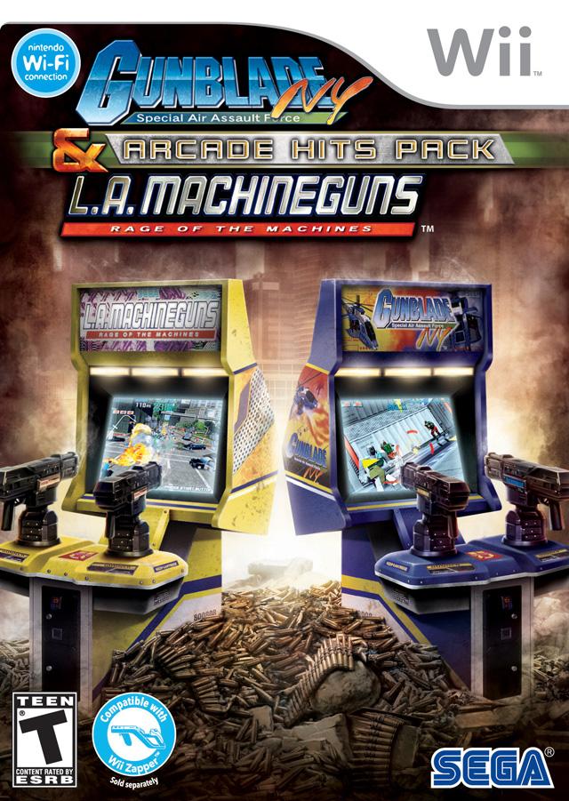 Gunblade NY & LA Machineguns - Arcade Hits Pack