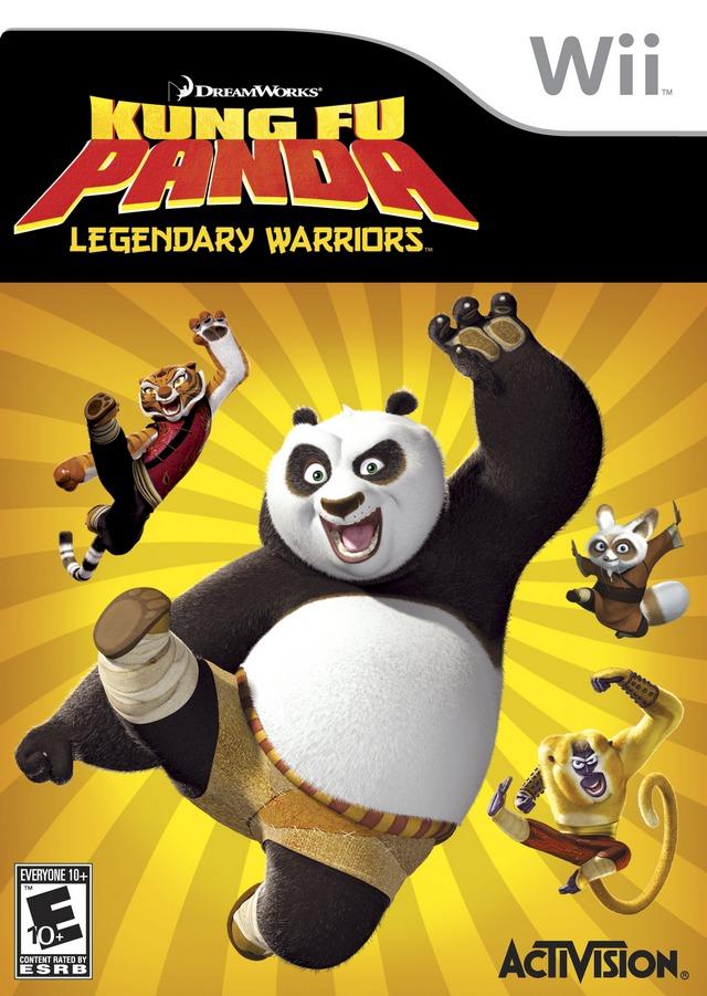 Kung Fu Panda- Legendary Warriors