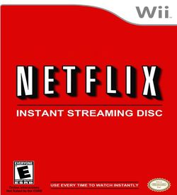 Netflix Instant Streaming Disc ROM