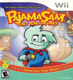 Pajama Sam- Don't Fear The Dark ROM