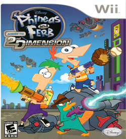 Phineas And Ferb Across The 2nd Dimension ROM