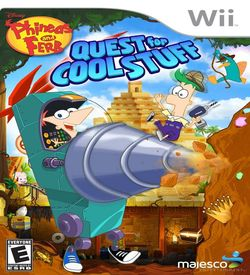 Phineas And Ferb - Quest For Cool Stuff ROM