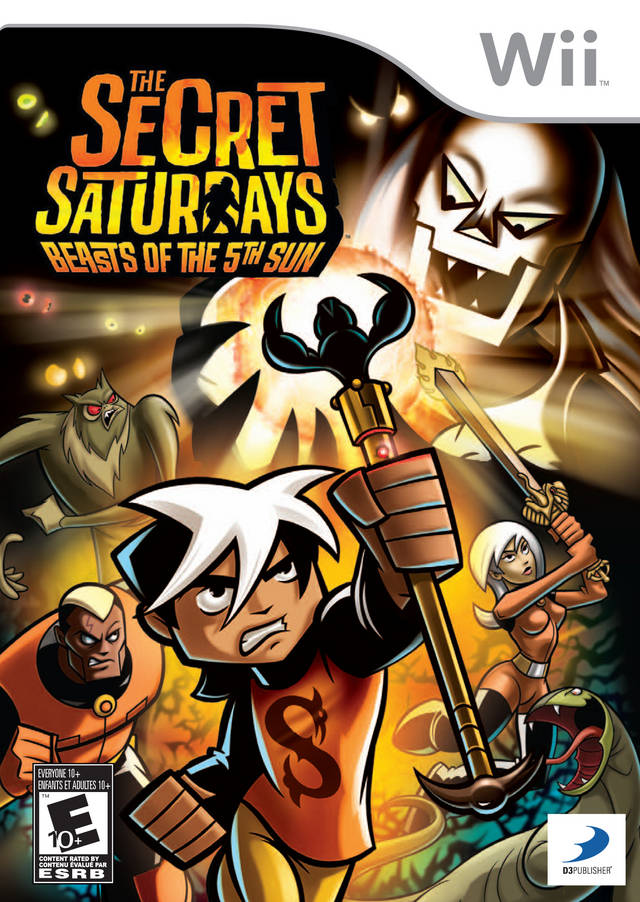 The Secret Saturdays- Beasts Of The 5th Sun