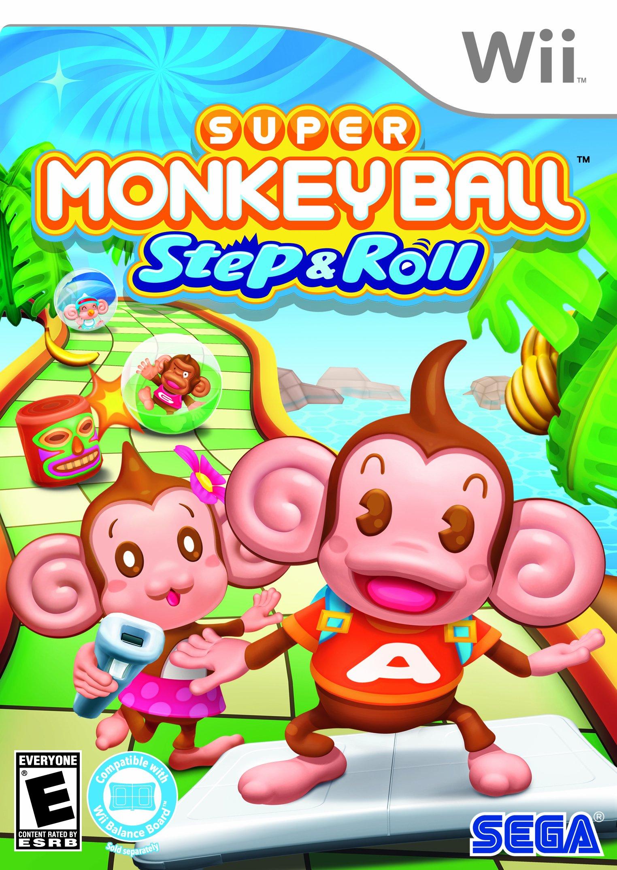 Super Monkey Ball- Step & Roll