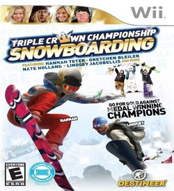 Triple Crown Championship Snowboarding ROM