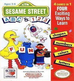 Sesame Street ABC - 123 ROM