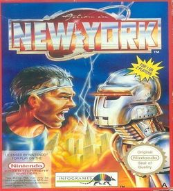 Action In New York ROM