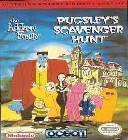 Addams Family - Pugsley's Scavenger Hunt, The ROM