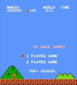 Adventures Of Ice Mario (SMB1 Hack) [a1] ROM