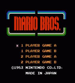 Afro Mario Bros (Mario Bros Hack) ROM