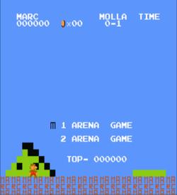 Arena Mario (SMB1 Hack) ROM