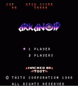 Arkanoid 98 (Arkanoid Hack) ROM