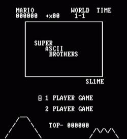 ASCII Mario (Final) (No Title) (SMB1 Hack) ROM