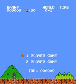 Barney Bros (SMB1 Hack) ROM