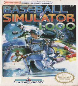 Baseball Simulator 1.000 ROM