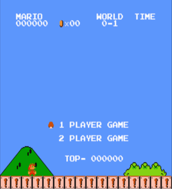 Big Nose Mario (SMB1 Hack) ROM