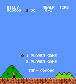 Billy Bros (SMB1 Hack) ROM