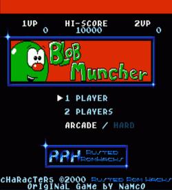 Blob Muncher (Ms Pac-Man Hack) (Namco) ROM
