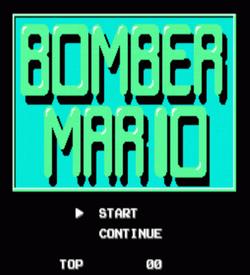 Bomber Mario Vx.xx (SMB1 Hack) ROM