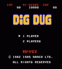 BuB-BoB (Dig Dug Hack) ROM