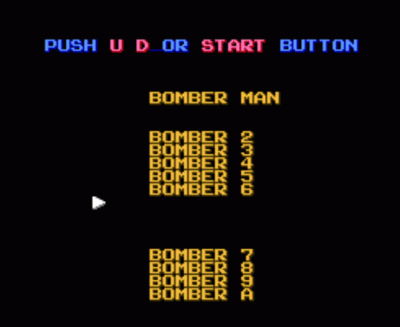 Bubbleman (Bomberman Collection Hack)