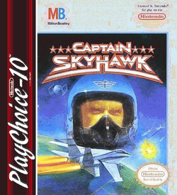 Captain SkyHawk (PC10) ROM