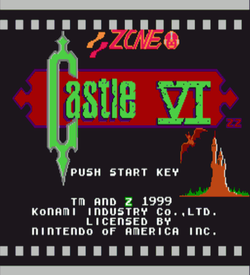 Castlevania 6 (Castlevania Hack) ROM