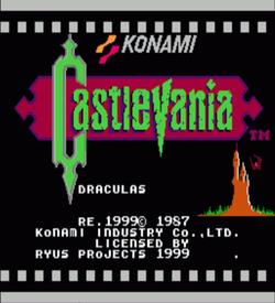 Castlevania - Dracula's Revenge (Hack) ROM