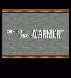 Chocobo DW V0.3 (Dragon Warrior Hack) ROM