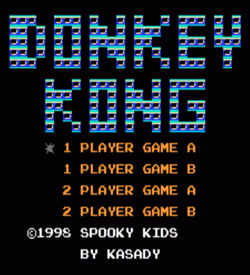 Cure For Cancer (Donkey Kong Hack) ROM