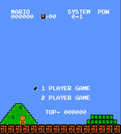 Cyber Mario (SMB1 Hack) ROM
