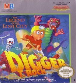Digger T. Rock - The Legend Of The Lost City ROM