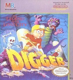 Digger - The Legend Of The Lost City ROM