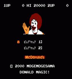 Donald Magic ROM