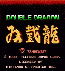 Double Dragon - RCR Edition V0.5a (Hack) ROM