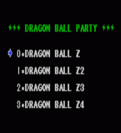 Dragon Ball Z 4-in-1 ROM