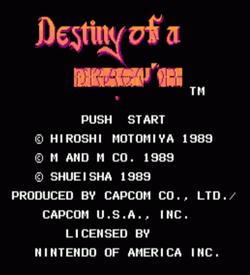 Dragon Destiny V0.12 (Destiny Of An Emperor Hack) ROM