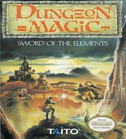 Dungeon Magic - Sword Of The Elements ROM