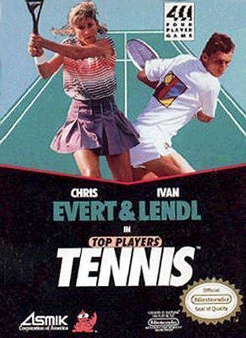 Evert & Lendl Top Player's Tennis