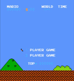 Hacked Mario Bros (SMB1 Hack) ROM
