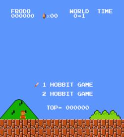 Hobbit Mario (SMB1 Hack) ROM