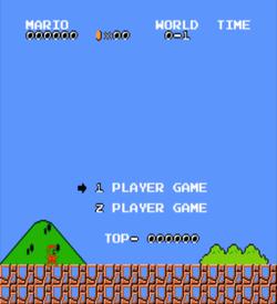 Invisible Mario Bros (SMB1 Hack) ROM