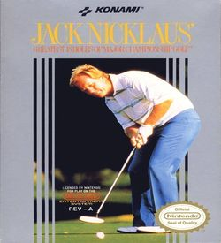 Jack Nicklaus' Greatest 18 Holes Of Champ. Golf ROM
