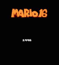 Mario 16 ROM