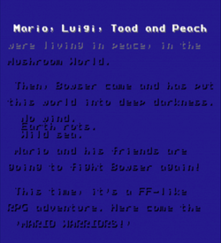 Mario Fantasy Adventure (FF1 Hack) ROM